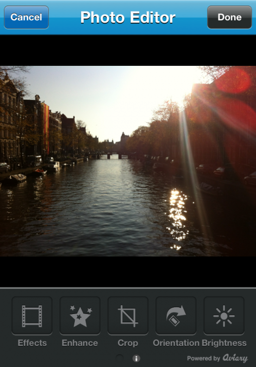 photo1 520x747 Twitpic releases its own iPhone app complete with filters