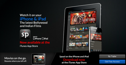 spuul1 520x267 Streaming service Spuul brings Bollywood to the iPhone and iPad with new iOS app