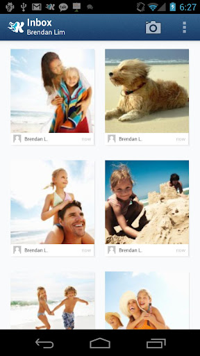 unnamed 1 Y Combinator filesharing service Kicksend launches its Android app