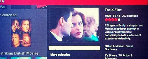 x-files on netflix by cfavero
