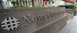 The News Corporation building is picture