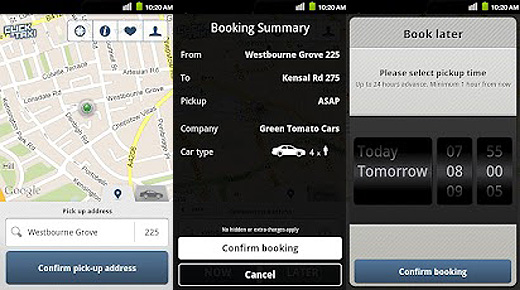 CAT520 The UK taxi and cab app war heats up as Click A Taxi arrives to take on Hailo
