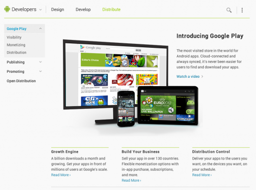 DAC Distribute 520x386 Google redesigns its Android Developers site as part of ramp up to I/O