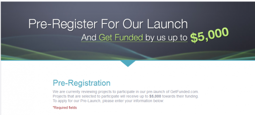 GF 520x234 Apps Genius opens pre registration for GetFunded, its Kickstarter style crowdfunding venture
