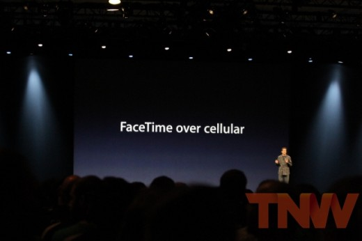 Image2 520x346 Apple announces iOS 6 will allow FaceTime calls over cellular networks