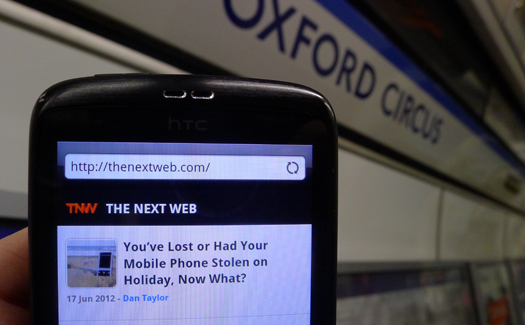 London Undergroundcrop Londons tube WiFi   Still a gimmick, with work to be done