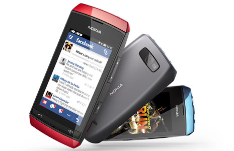 Nokia Asha 305 Nokia launches Asha 305, Asha 306 and Asha 311, its first full touch Series 40 handsets