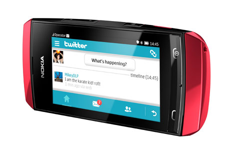 Nokia Asha 306 Nokia launches Asha 305, Asha 306 and Asha 311, its first full touch Series 40 handsets