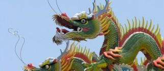 Drachen in Taiwan