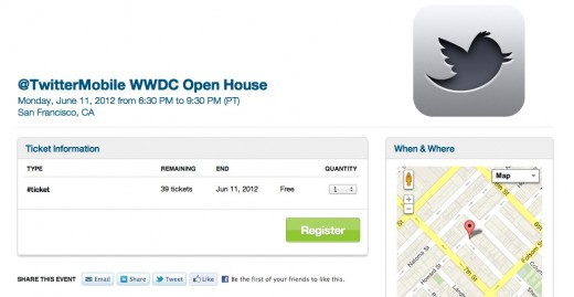 Screen Shot 2012 06 01 at 10.55.43 AM 520x269 Twitters Mobile team to hold WWDC Open House event for developers on June 11th