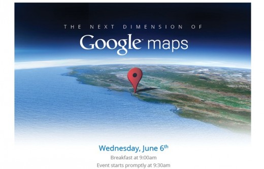 Screen Shot 2012 06 01 at 8.44.01 AM 520x333 Google to head Apple off at the pass by holding 3D Maps event on June 6th, just before WWDC