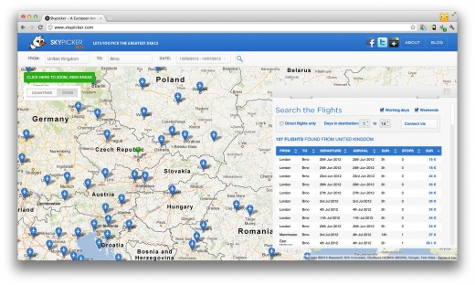 Screen Shot 2012 06 11 at 13.18.34 520x312 Czech startup accelerator Starcube hosts portals for flyers, skiers, bikers and more
