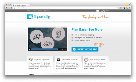 Screen Shot 2012 06 19 at 13.25.59 520x312 Travel startup Tripomatic wins the latest API Mashup Contest