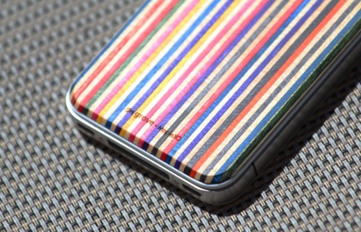 Screen Shot 2012 06 30 at 2.27.03 PM 520x335 The SkateBack: Sheathing your iPhone in recycled skateboards is cool, but is it practical?