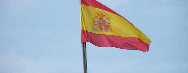 Spanish flag in Palma de Mallorca by uggboy