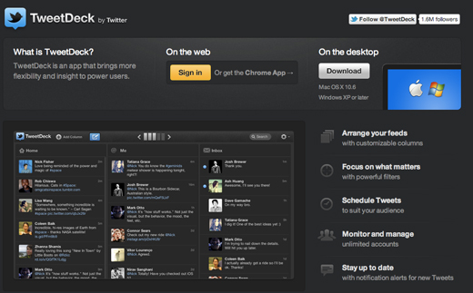 TweetDeck Our top social media dashboard picks