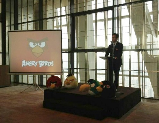 angry birds 520x403 Rovio confirms its first Angry Birds Activity Park in China, plans hundreds more