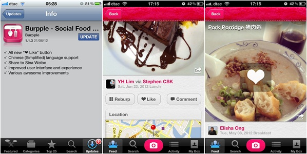 burpple additions1 Photo sharing service for foodies Burpple gobbles up $500,000 to continue its development