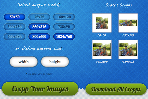 cropp3 Neat! Cropp.me auto crops your images online   does it fast and does it well