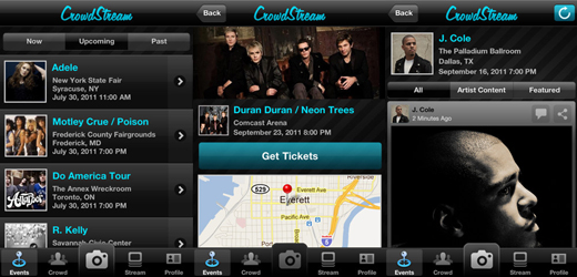 crowdstream Crowdstream app launches to tap into the frenzy of ardent fans