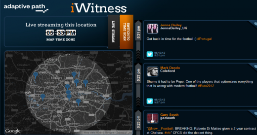 d1 520x274 TNW Pick of the Day: iWitness filters Twitter and Flickr content by time and location