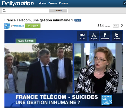 dailymo France Télécom to buy the 51% of video site Dailymotion it doesnt already own for $90 million