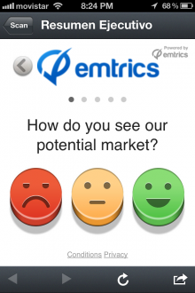 emtrics 220x330 This emoticon powered feedback app could help you boost customer satisfaction