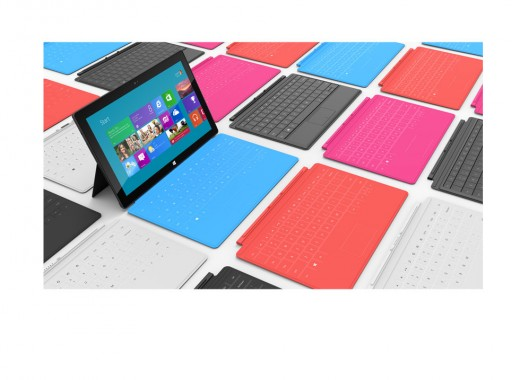 gallery 5 large 520x380 Check out close up pics of Microsoft Surface, a tablet with a kickstand and multi color keyboards