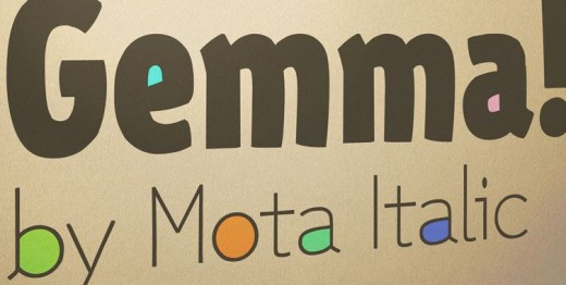 gemma 01 520x262 27 new typefaces released last month that you need to know about