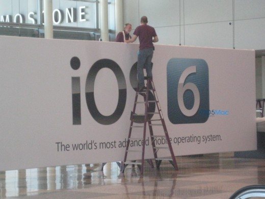 header1 520x390 Banners at Moscone confirm that iOS 6 is coming next week at WWDC