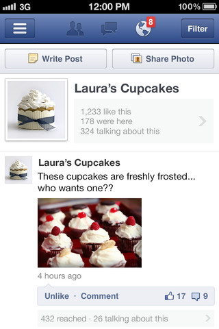 Facebook Pages Manager app for iOS gets messaging capability
