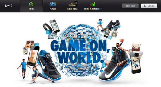 nike plus 520x283 Wait, theres more: Revamped Nike+ Running app gets social with Facebook Open Graph integration