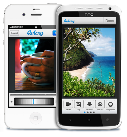 press screen Aviary launches iOS and Android apps to help share its mobile photo editing SDK with the world