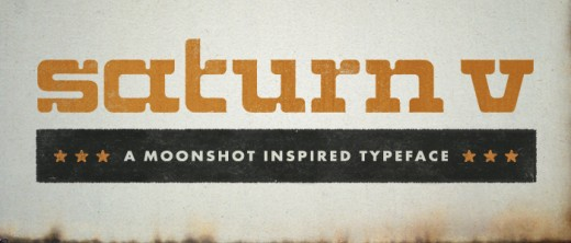saturnv 1 520x222 Check out the latest typefaces from the Lost Type Co op: A pay what you wish foundry