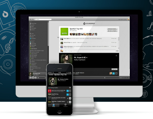 sound Spotify app maker Soundrop raises $3m from early Spotify investor (interview)