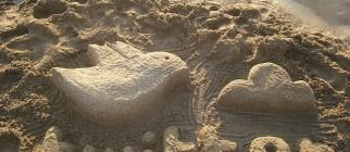 twitter escultura de arena by rosauraochoa