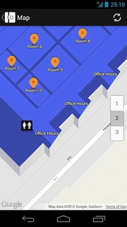 The Google I/O 2012 Android app is live, grab it for live streaming, maps and scheduling now