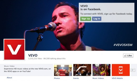vevo fb 520x307 This Week in Media, from Apple TVs to Vevo