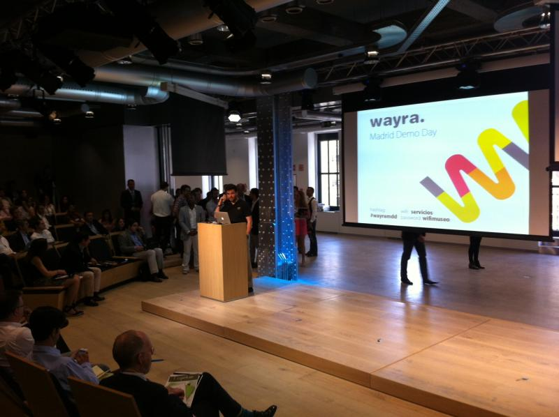 Wayra Madrid's Startups Deliver at First Demo Day