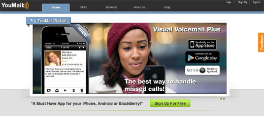 youmail YouMail hits over 17.5 million users in the US by offering customisation for voicemail and caller ID