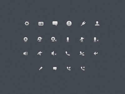1 Size matters: 21 Gorgeous petite icon sets crafted by pixel perfect designers