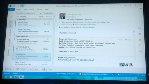 LinkedIn scores one click integration with the new Microsoft Office