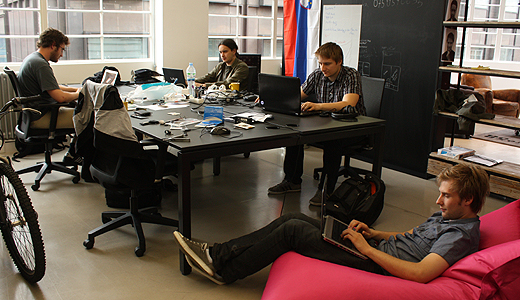 2ndsight Enter the accelerator. Seven Wayra London Academy teams discuss their first weeks