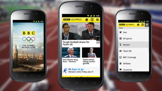 624 520x292 The BBC launches Olympic iOS and Android apps, offers 24 simultaneous live streams, full schedules and more
