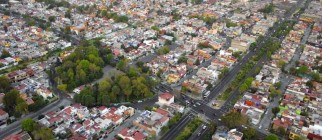 Aerial view of Mexico City via Pond5