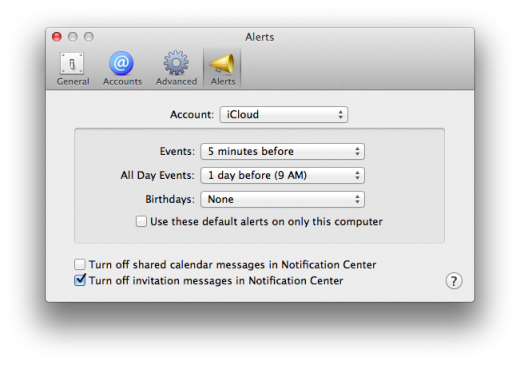Calendar Alerts 520x365 TNW Review: OS X 10.8 Mountain Lion