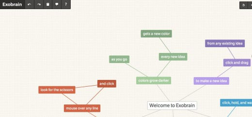Convo 113 520x243 Exobrain could end up being a killer mind mapping tool to focus your creativity