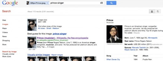 Convo 85 520x196 Google improves search by image, now includes Knowledge Graph in results