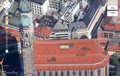Frauenkirche Google releases new high res imagery for 25 cities and 72 countries and regions for Maps and Earth