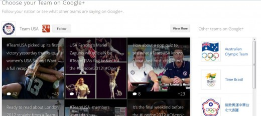 GOLYMPICS3 520x232 Google launches online London Olympics hub, reeling in content from across all its products